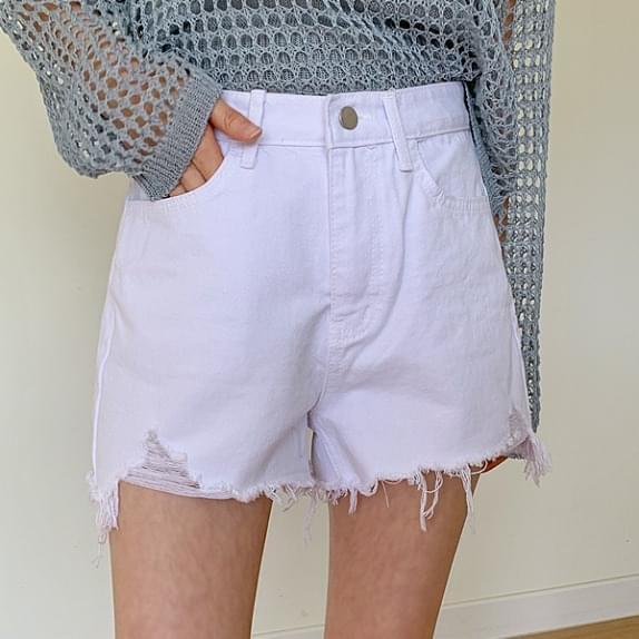 Ed cutting short pants