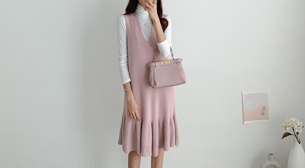 Flare Knit Best Dress #37334