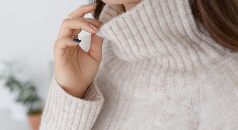 Cozy Ribbed Polar Knit #107635