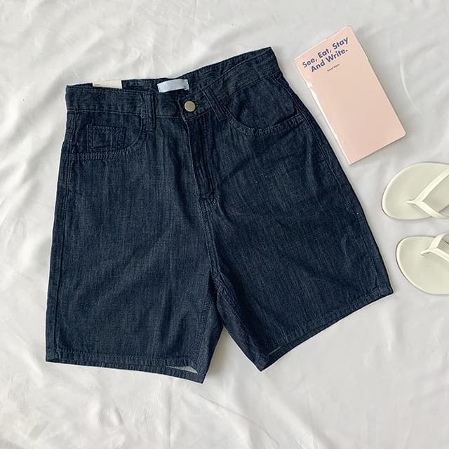 Vintage Raw linen 3-part shorts