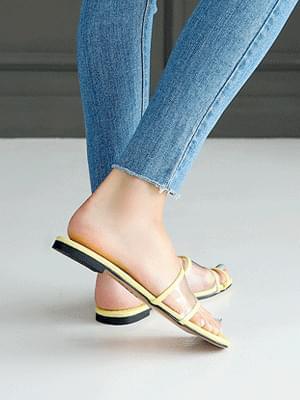 Pierre PVC Slippers 1cm