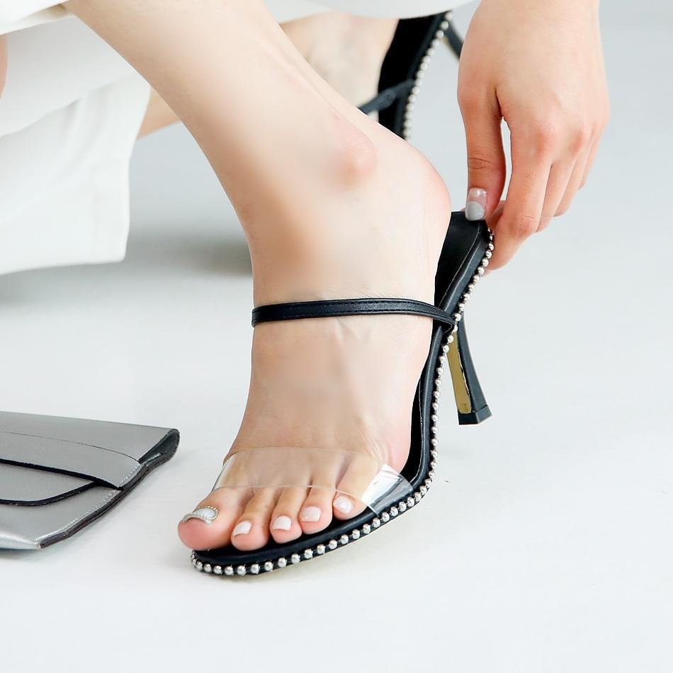 Lefortden PVC 2 way sandals 8 cm