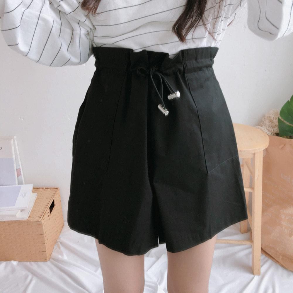 Lucifer string banding shorts 短褲