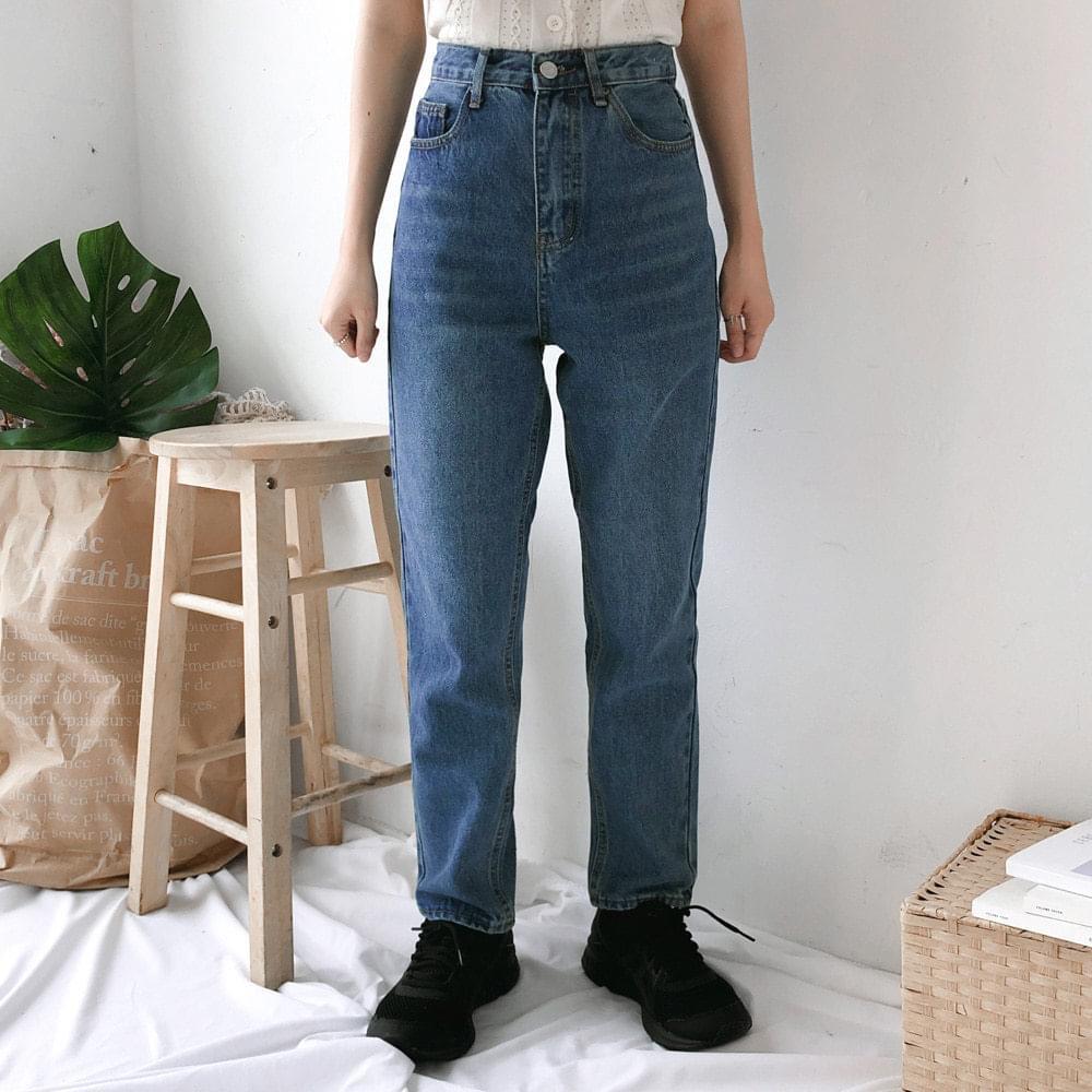 5850 high semi-exhaust denim pants 牛仔褲