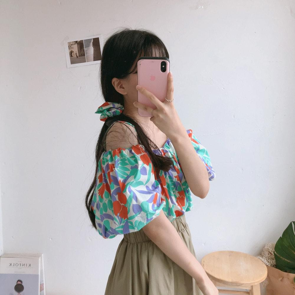 Tulip off blouse (bl0416) 襯衫