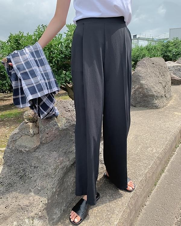 Cumming cooling wide pants