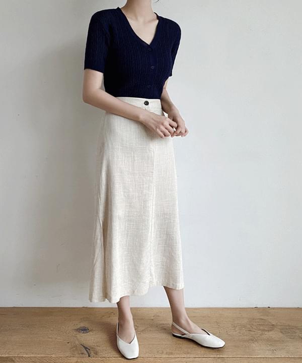 韓國空運 - Latte Cable Short Sleeve Cardigan-Same day delivery 針織外套
