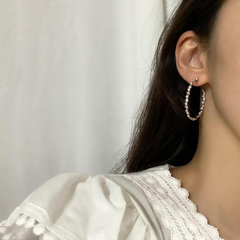 Noi Elisa Connect Silver Earrings