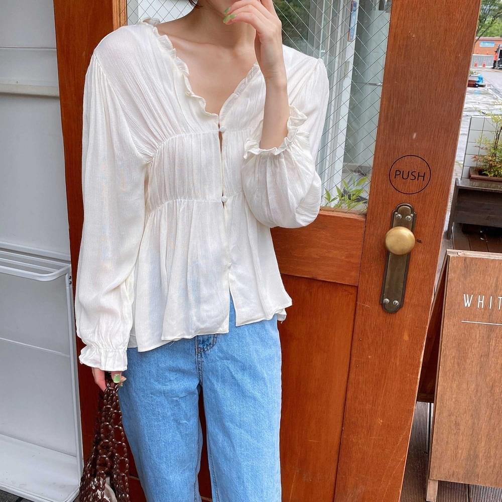 Molyul frill blouse