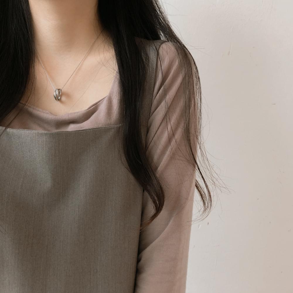 F square cropped T-shirt 長袖上衣