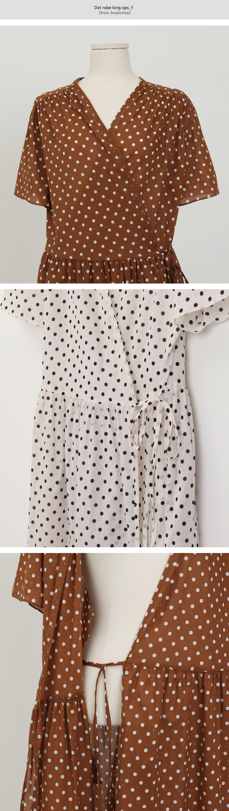 Dot robe long ops_Y