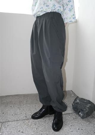 crispy banding cargo pants