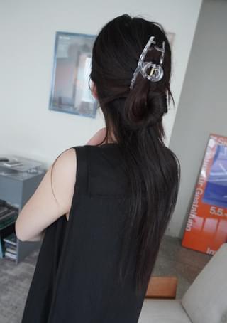 circle line hair pin