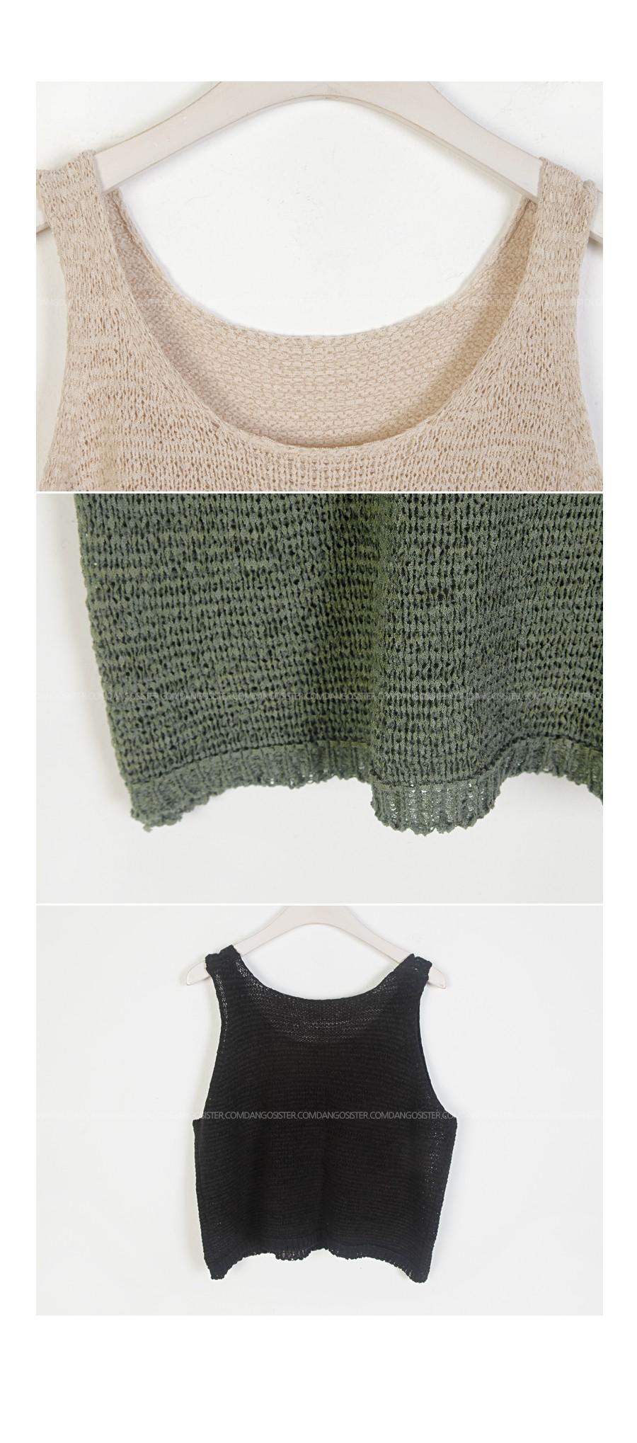 Bay crop knit