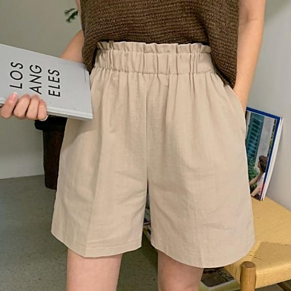 Ritz Bending Shorts Frill Bending Point: D