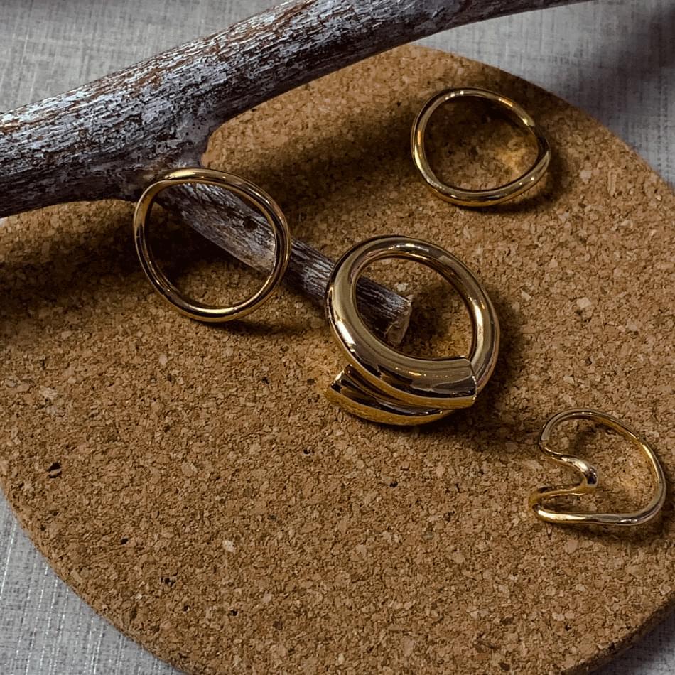 200 snake bold ring set ring