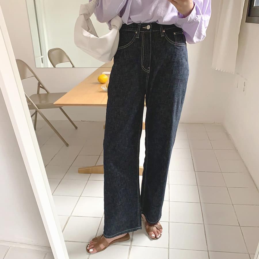 Cotton Stitch Pants