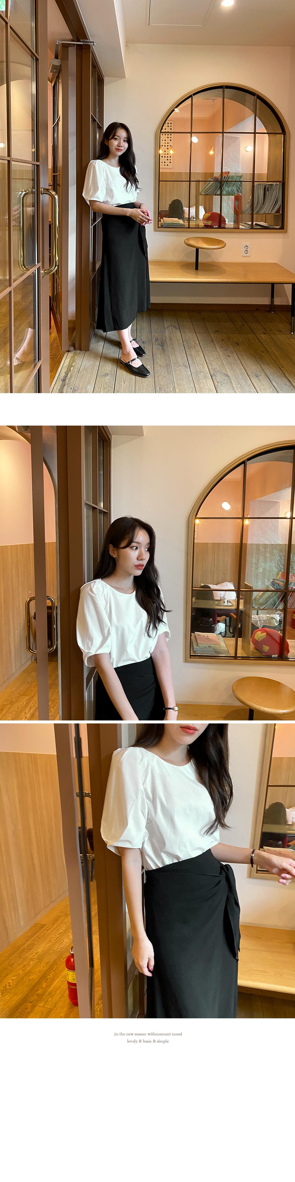 Yomi balloon blouse