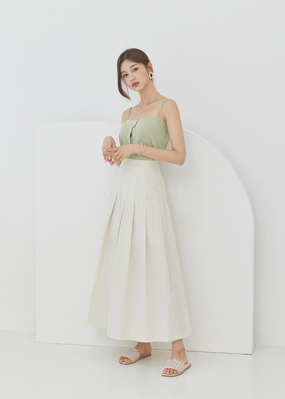 韓國空運 - Big pleated skirt 裙子