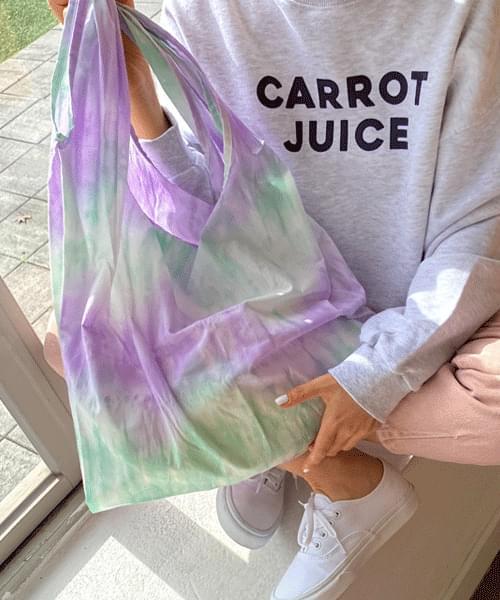 Pastel Water Printing Eco Bag
