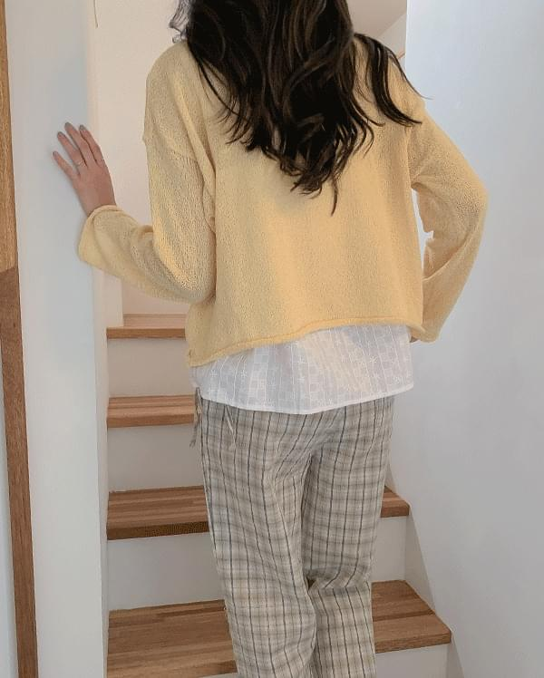Lacey Bookle Crop Knit