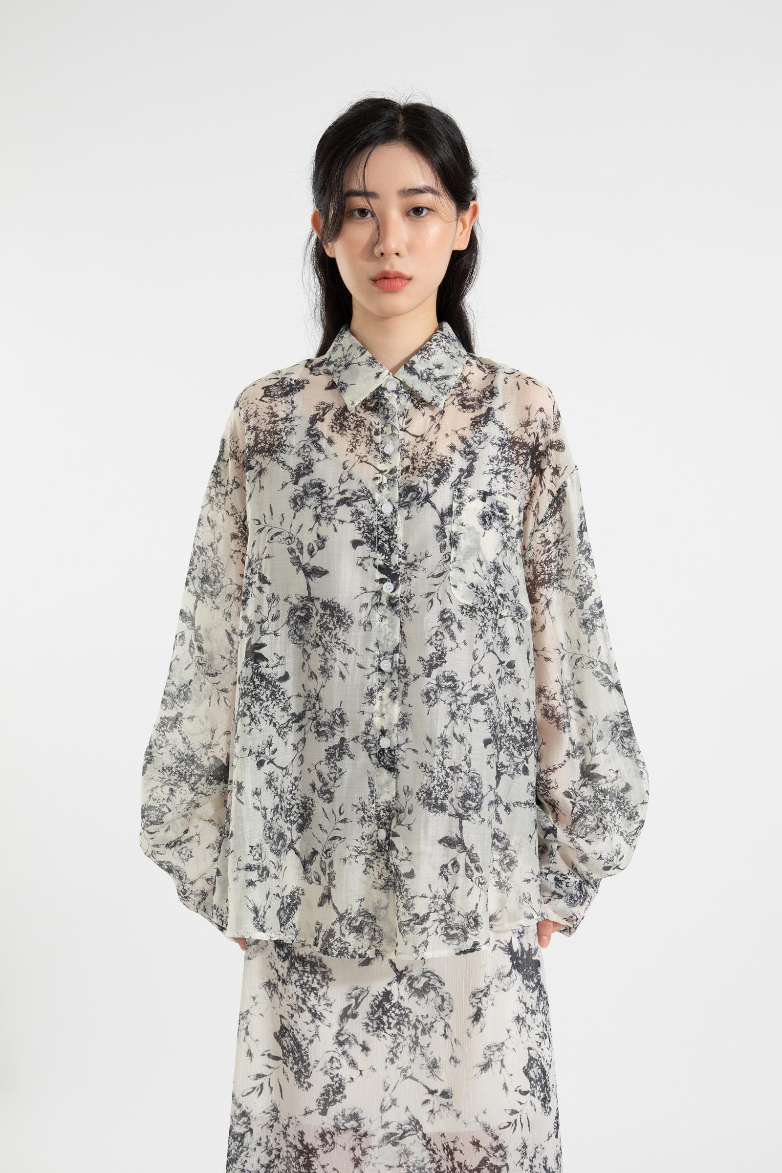 Bacardi pattern over shirt