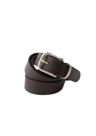rectangle basic belt (2colors)