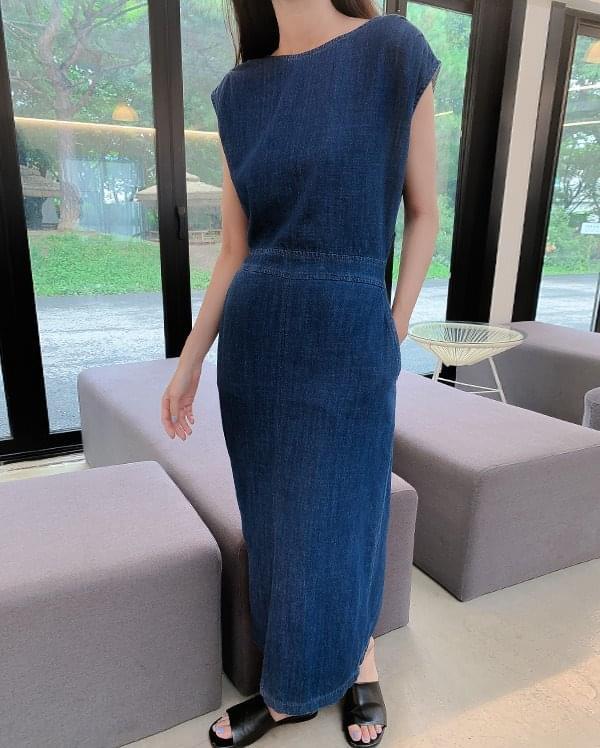 Chlora denim dress