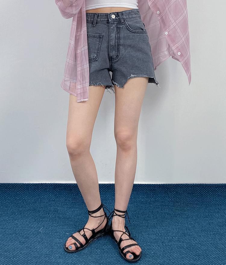 Mini pocket short pants