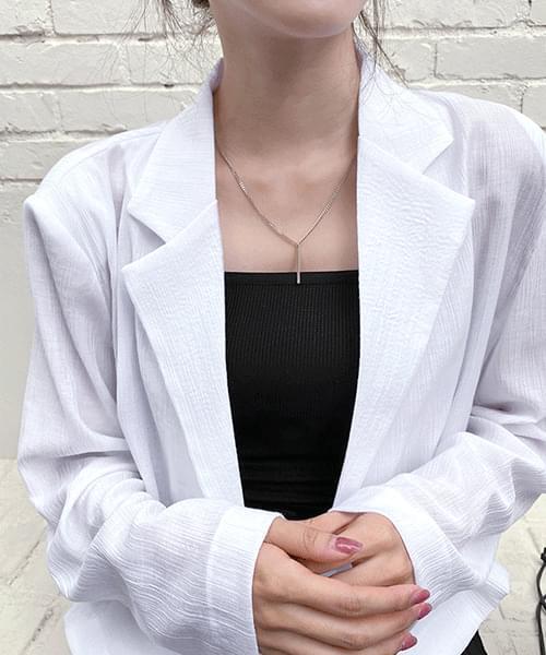 simple stick necklace