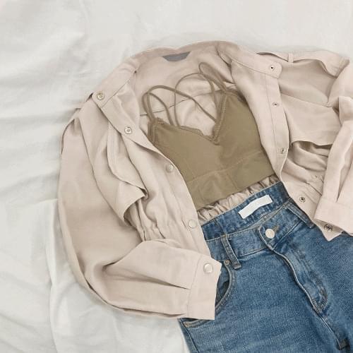 Stylish cropped short jacket O#YW373