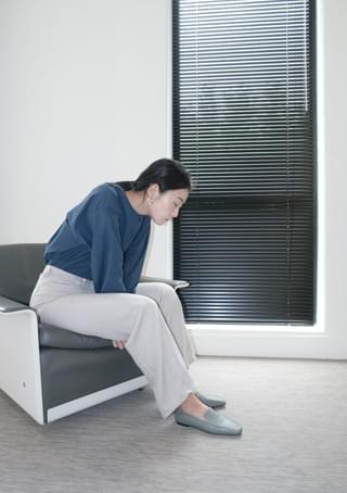 mild tone linen pants