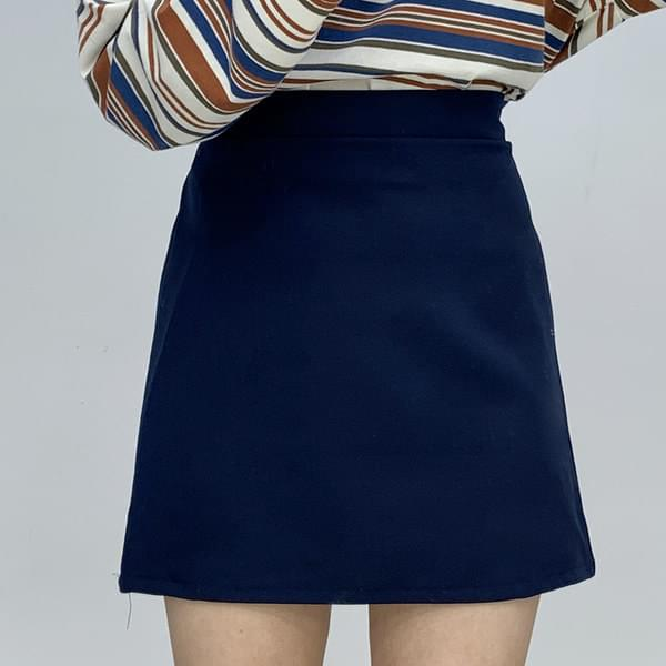 Modern back banding skirt