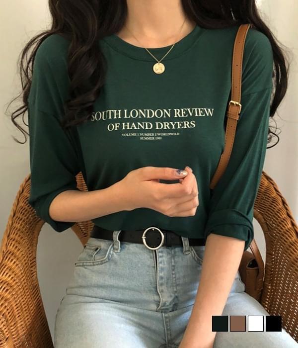 Review Lettering Part 7 T-shirt