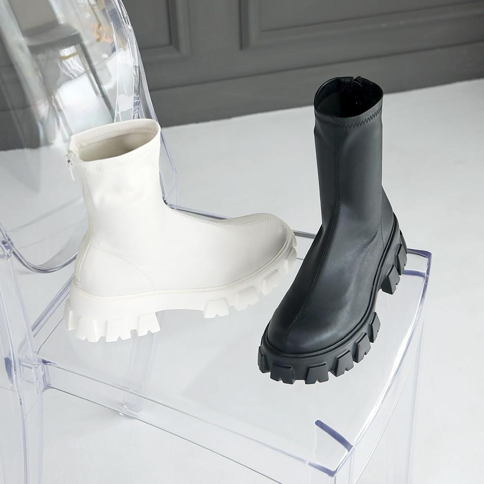Diez socks ankle boots 5cm