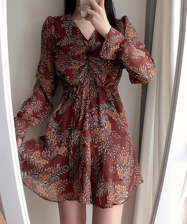 New Discount ♥Wonie Shirring Frill Dress