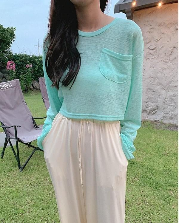 Veeve cropped T-shirt
