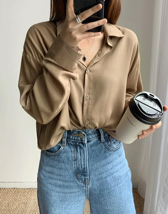 韓國空運 - Soft Sheer Shirt 襯衫
