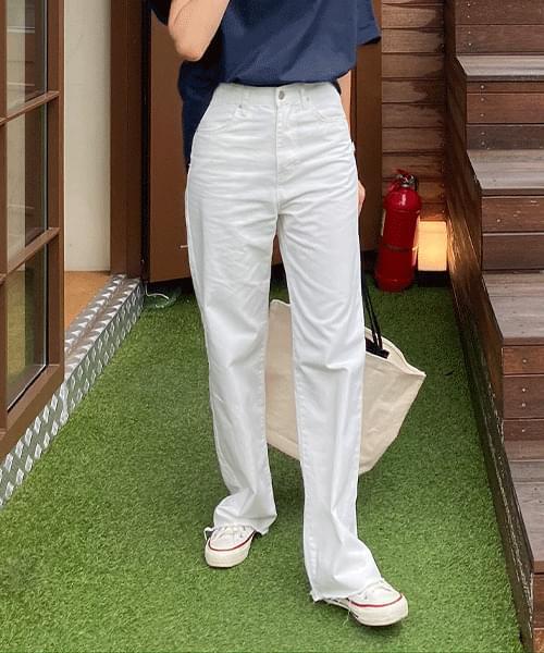 Decoy long cotton trousers