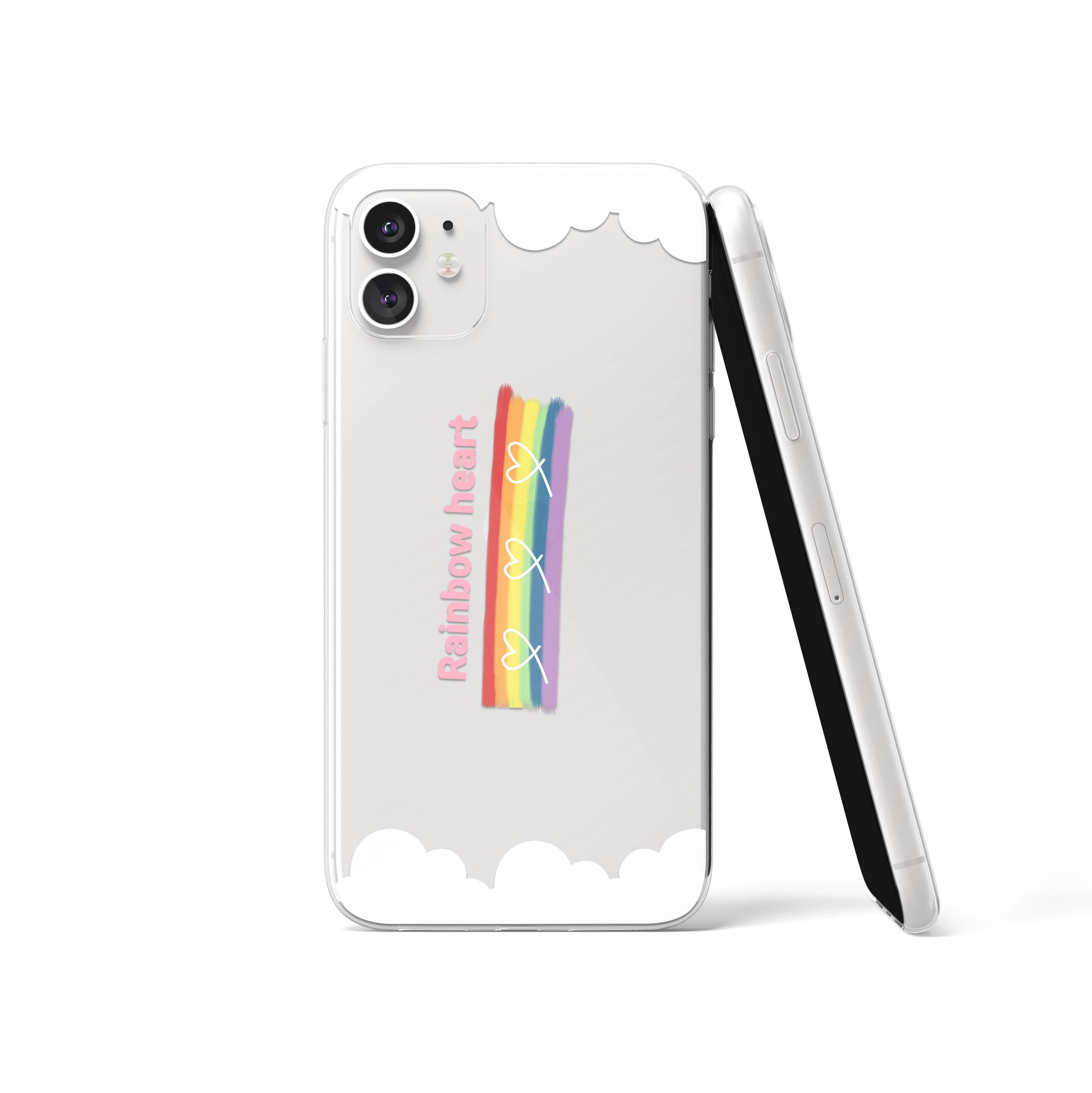 Rainbow cloud case