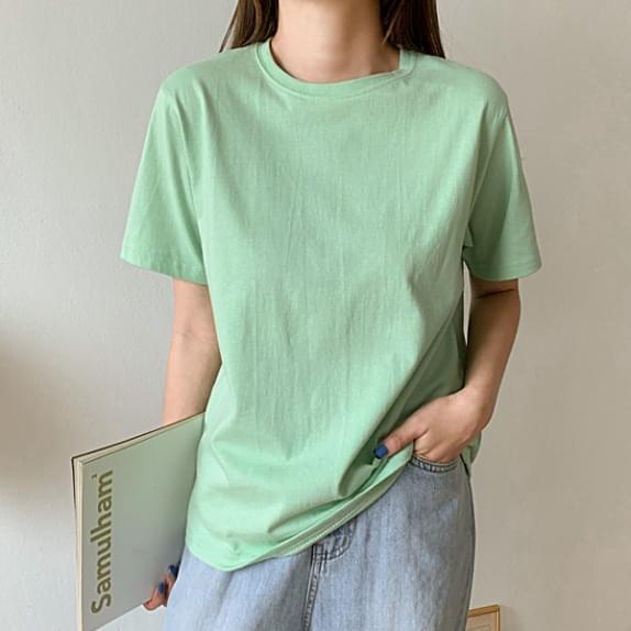 Pastel Plain Short Sleeve T♥Various Colors