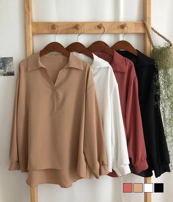 Roche simple collar blouse 襯衫