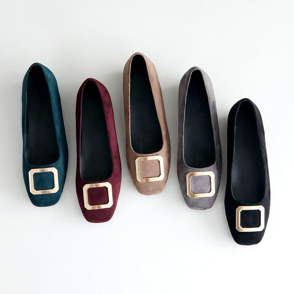 HENIZEN Height Flat Shoes 3cm