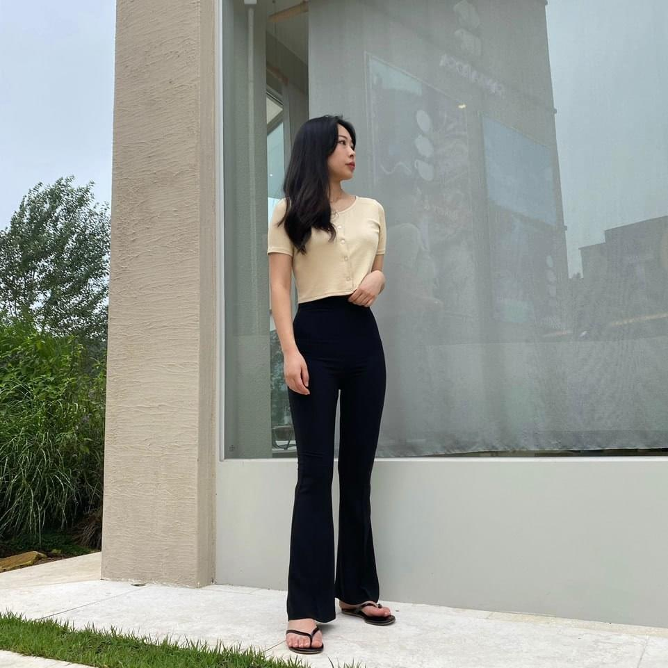 Span High Waist Bootcut pants