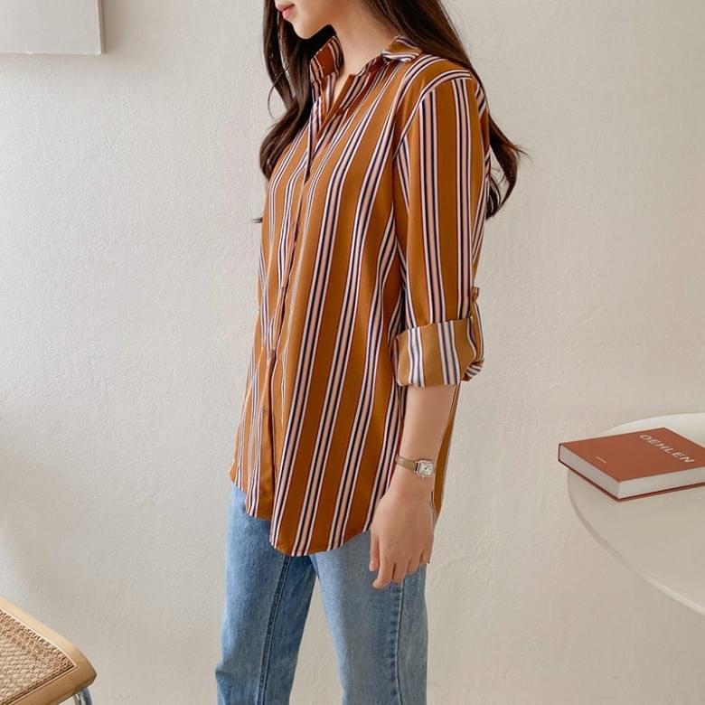 韓國空運 - Holway Jose pinstripe shirt 襯衫