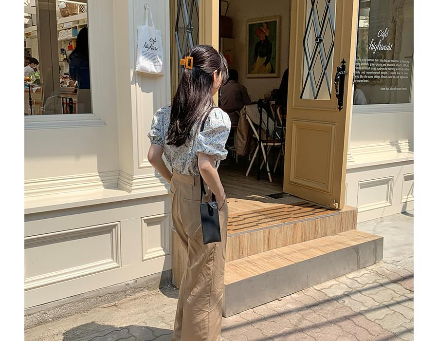 Mokoro Mini Square Shoulder Bag