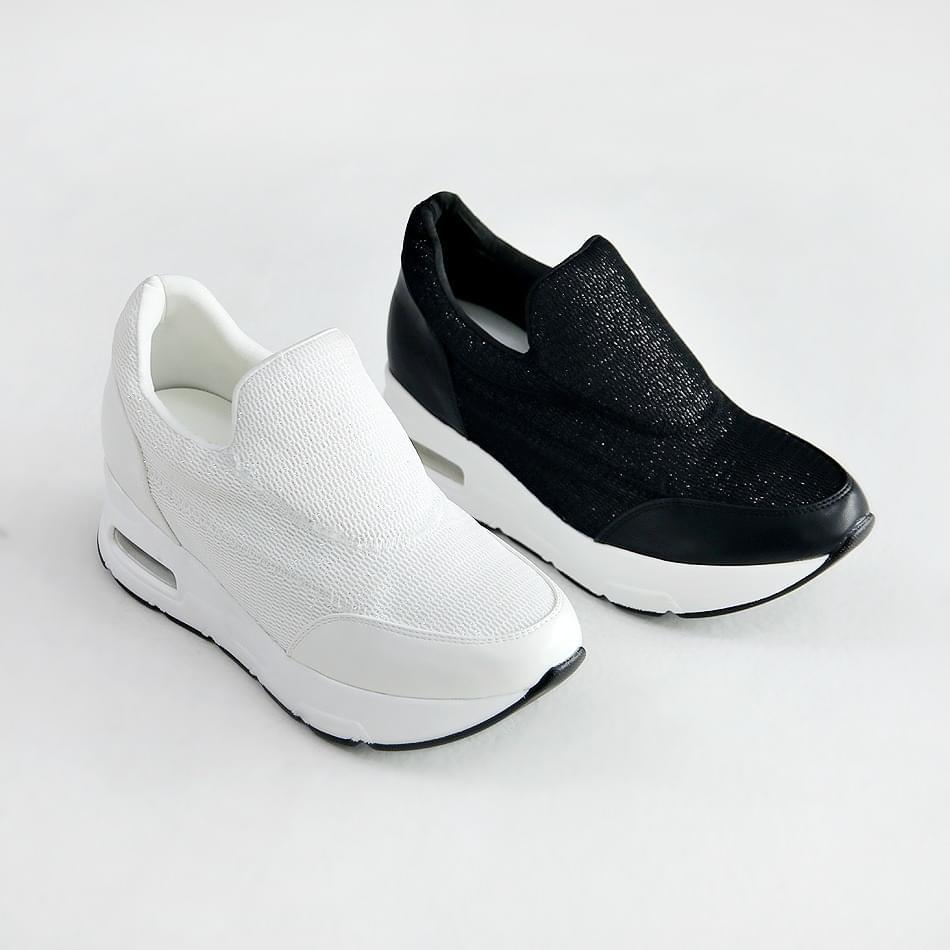 Junior height sneaker 6cm