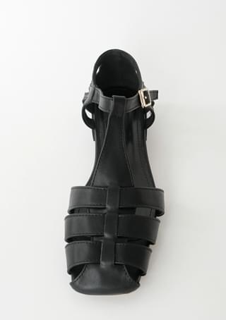square gladiator sandals