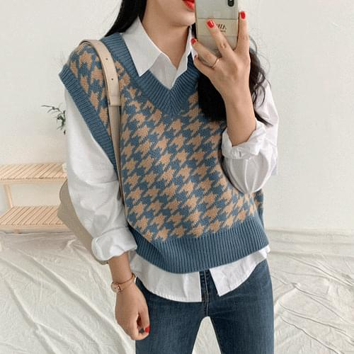 Supplier Knit Vest Cardigan/Vest
