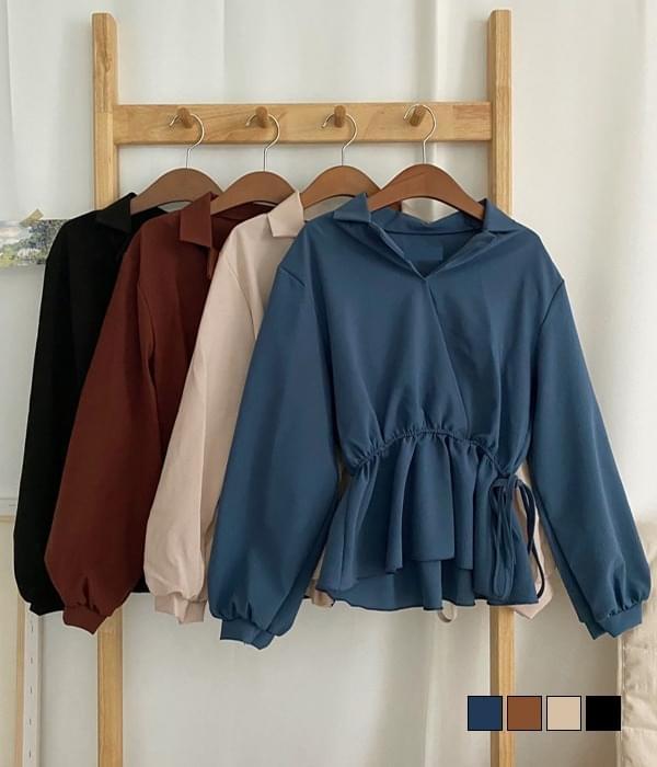 Benicara flared blouse 襯衫